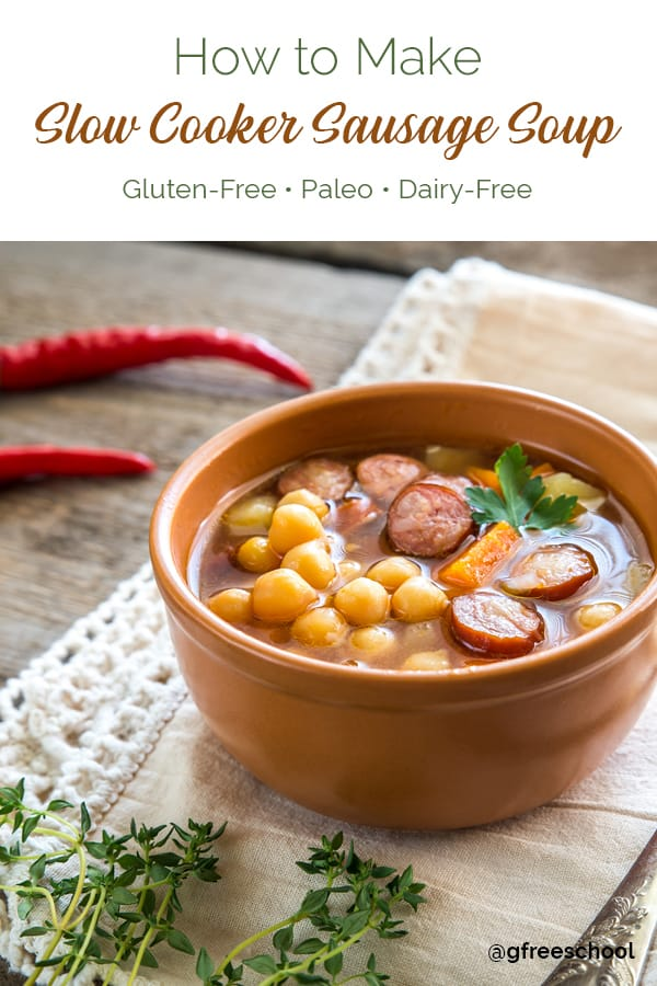 Slow-Cooker Sausage Soup Recipe