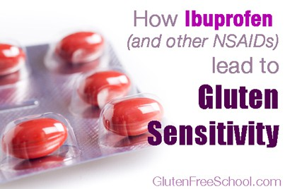gluten sensitivity ibuprofen