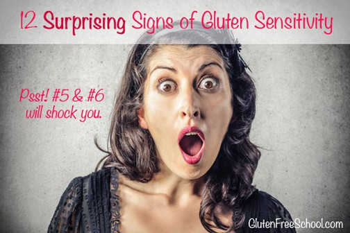 signs of gluten sensitivity