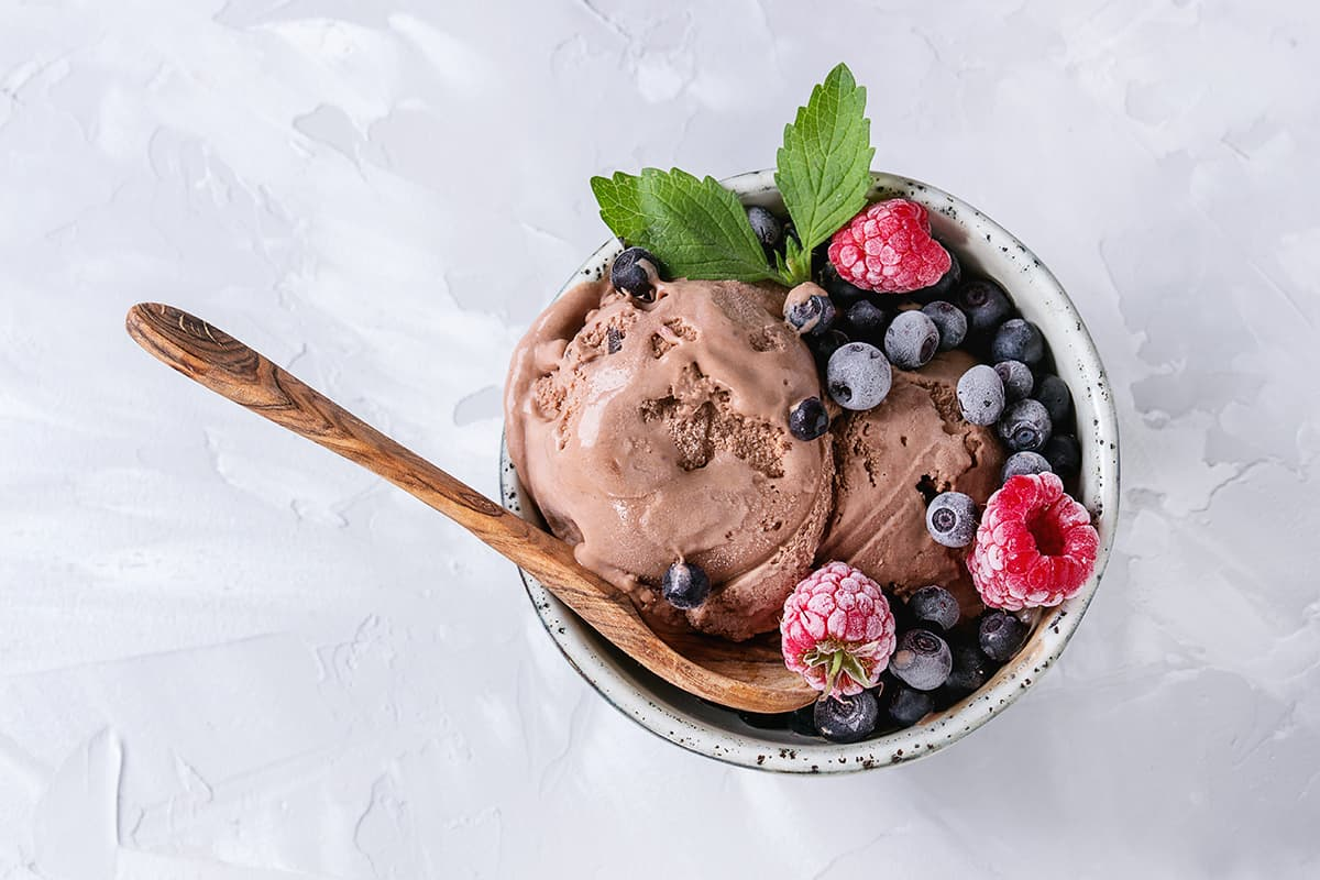 Vegan Chocolate Icecream
