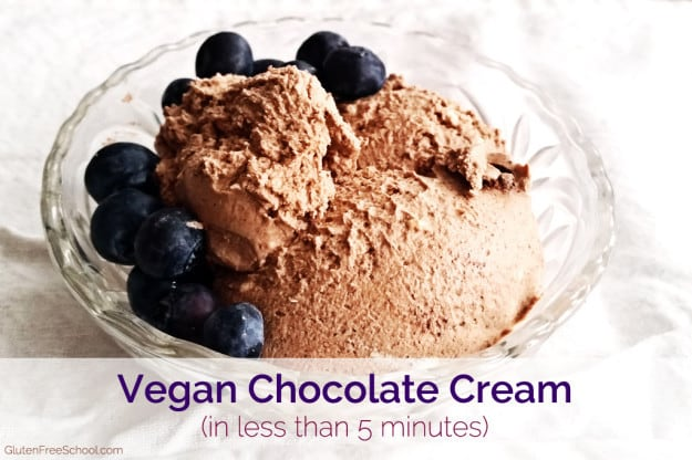 vegan chocolate cream