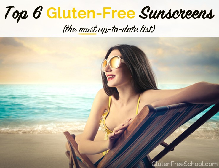 Top 6 Gluten Free Sunscreens (Most Up To Date List)