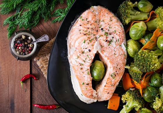 oven steamed salmon recipe