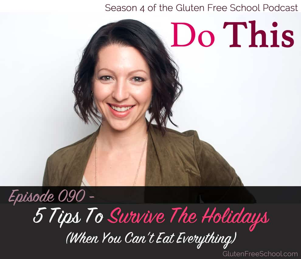 gluten free holiday tips