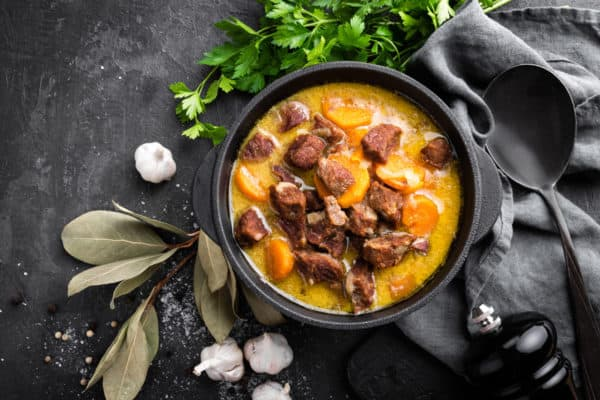 slow cooker sweet potato beef stew