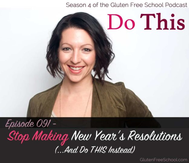 make new year's resolutions
