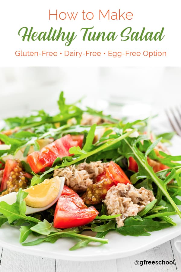 How to Make a Gluten Free Tuna Salad