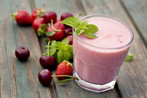 Delicious Berry Protein Shake