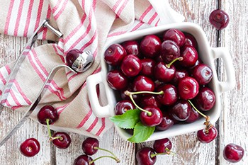 Cherries that actually contain a little melatonin