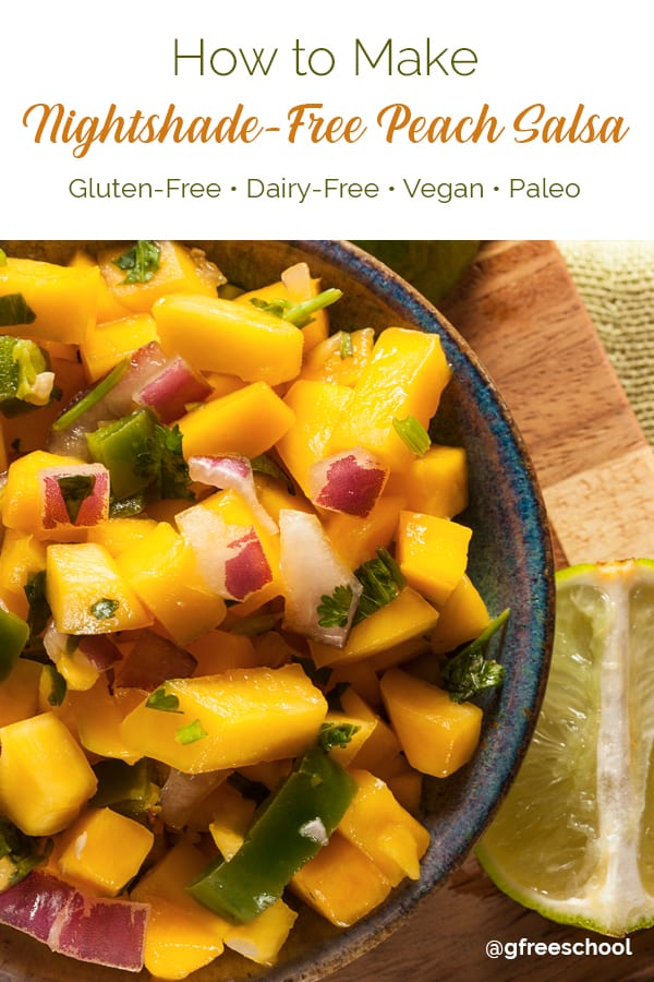 Nightshade-Free Peach Salsa Recipe