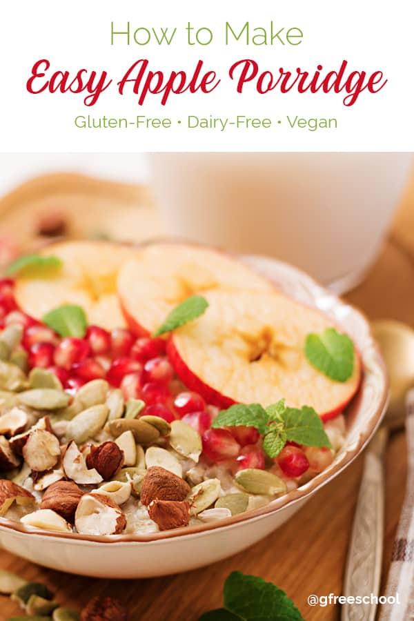 Easy Apple Porridge (Slow Cooker) Recipe