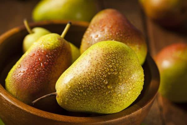 Green Organic Healthy Pears