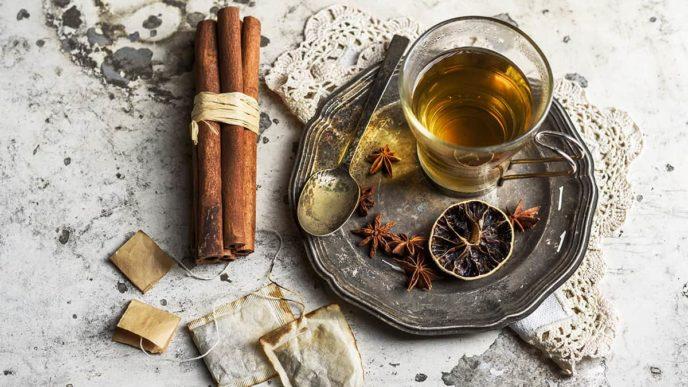 Cinnamon Vanilla Tea