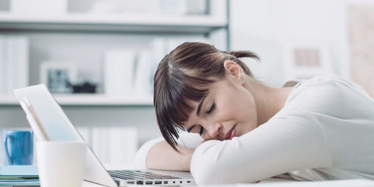 Woman with Adrenal Fatigue