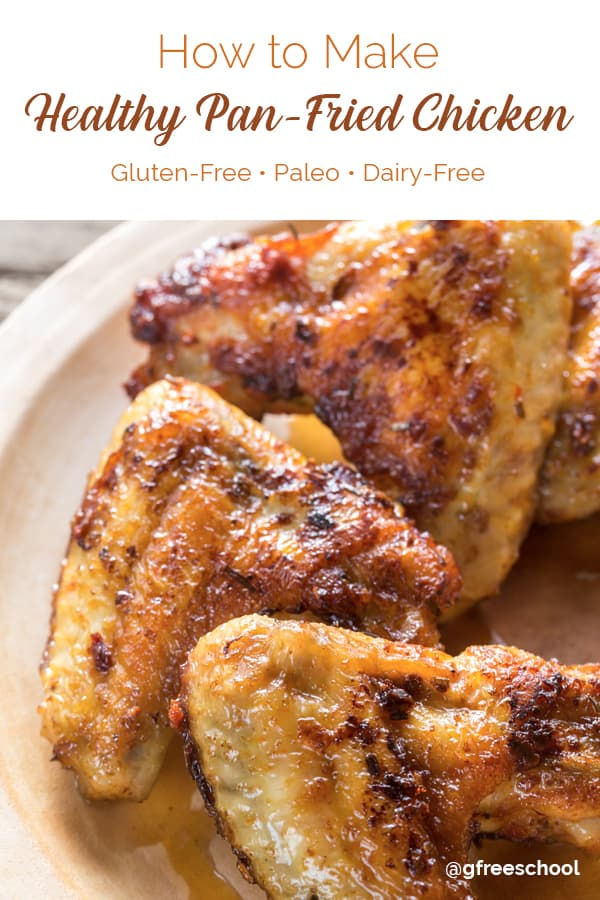Healthy 3-Ingredient Pan Fried Chicken