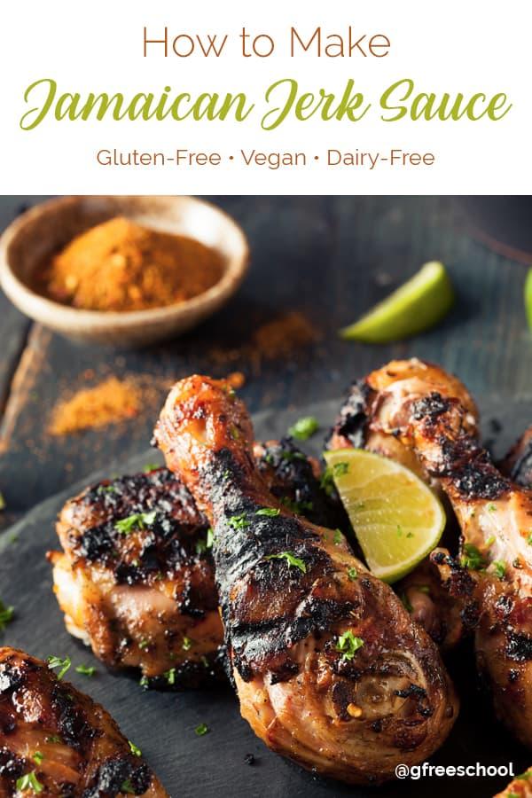Gluten Free Jamaican Jerk Sauce Recipe (vegan)