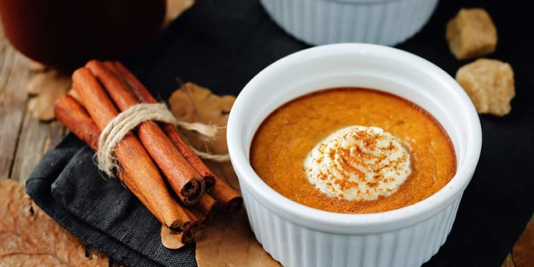 Baked Pumpkin pudding