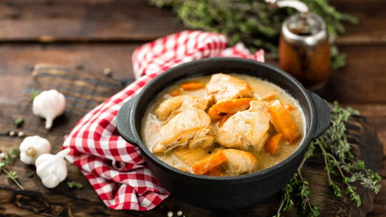 crockpot chicken soup