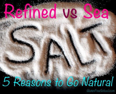 refined vs sea salt