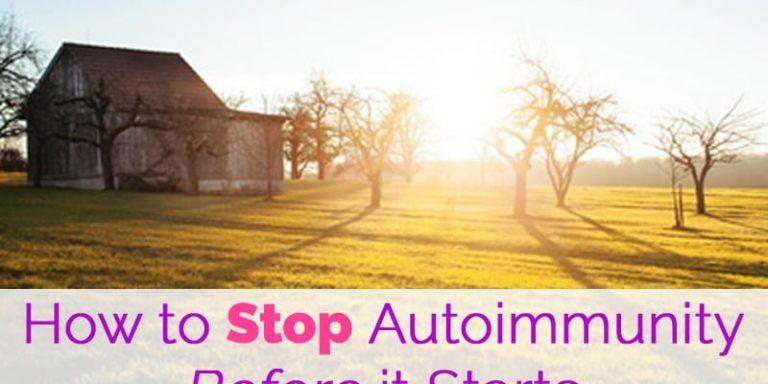 stop autoimmune disease