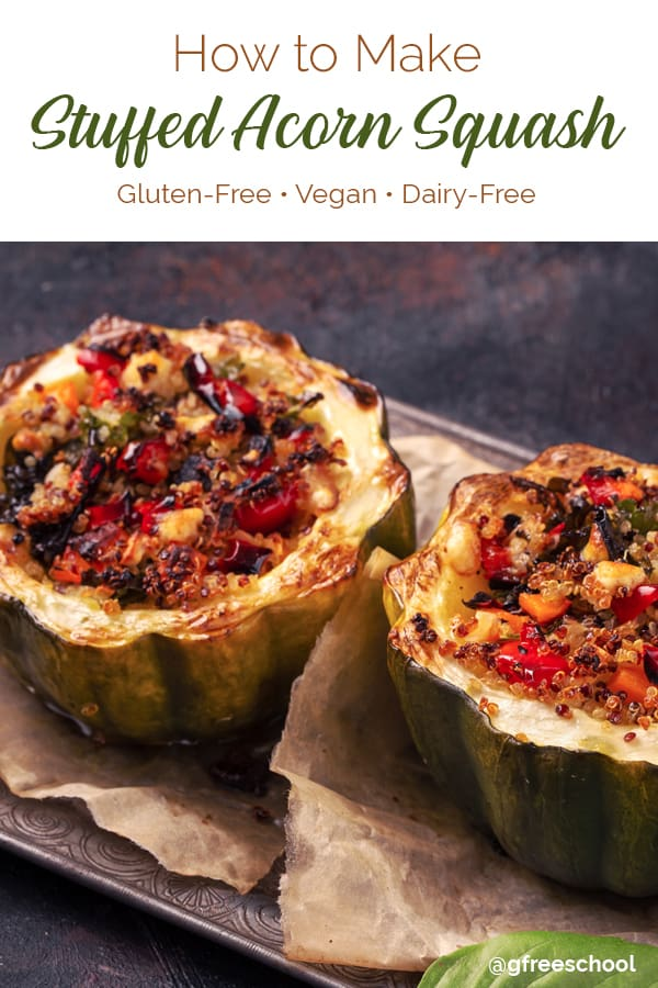 Stuffed Acorn Squash with Spanish Quinoa Recipe