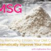 removing msg from your diet
