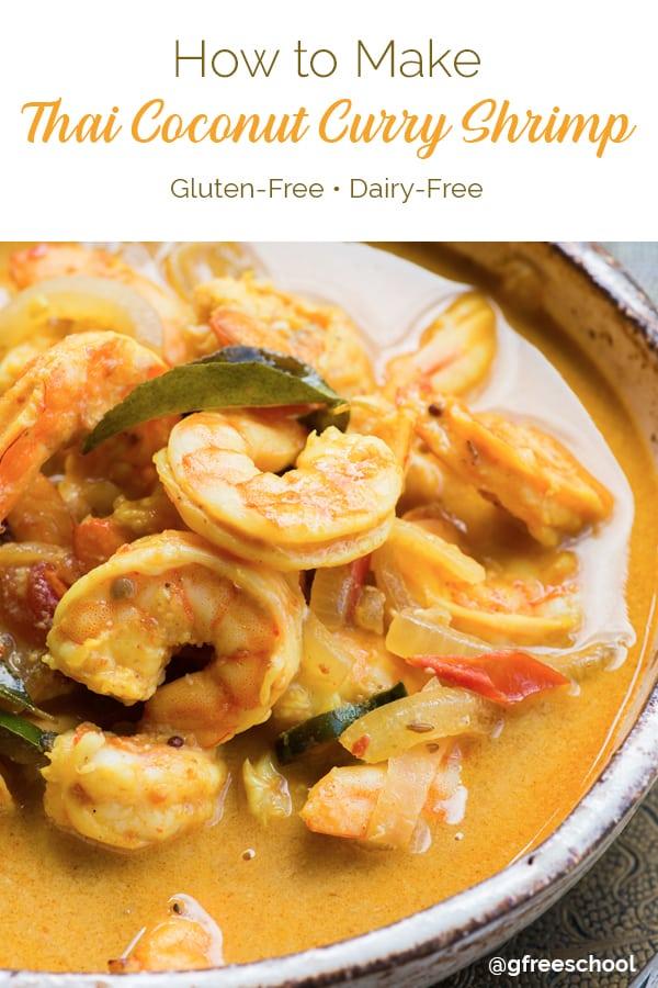 Thai Coconut Curry Shrimp Recipe