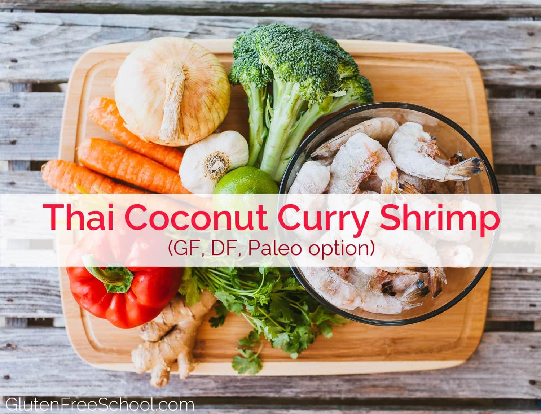 thai coconut curry shrimp