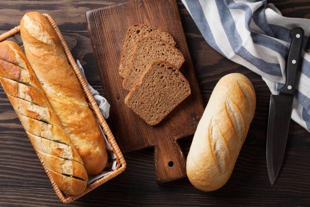 Fresh Bread full of Gluten