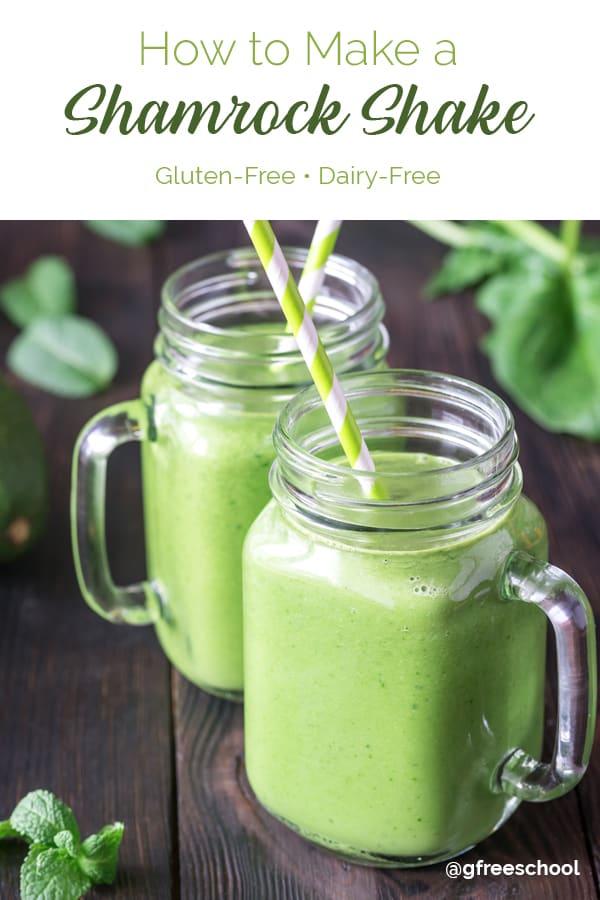 Dairy Free Shamrock Shake Recipe
