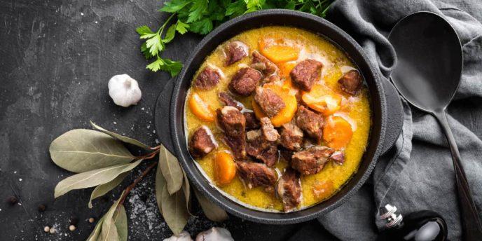 slow cooker sweet potato beef stew