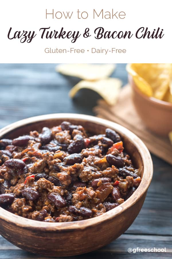 How to Make Lazy Turkey & Bacon Slow Cooker Chili