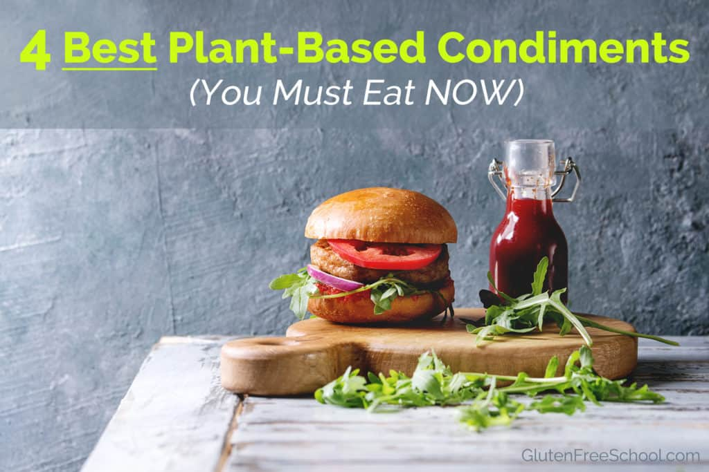 plant based condiments
