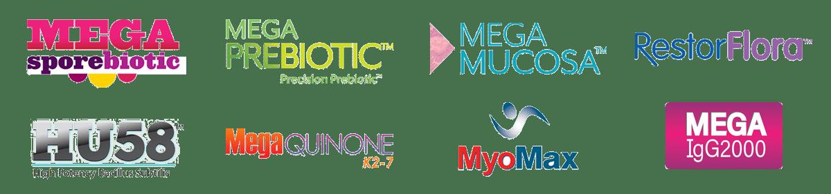 Megaspore Product Logos